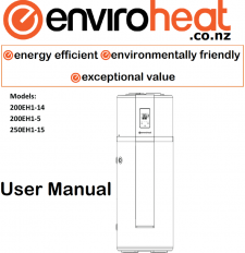 Enviroheat New Zealand heat pump water heaters
